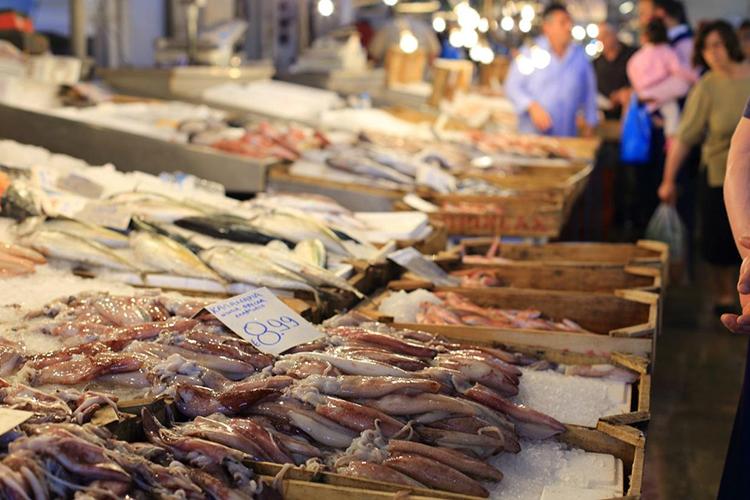 Fischmarkt in Zakintos