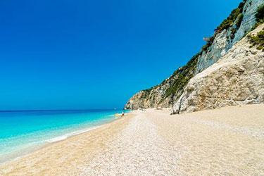 Kathsima Beach Insel Lefkas