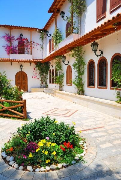 Kloster Panagia Faneromeni auf der Insel Lefkas