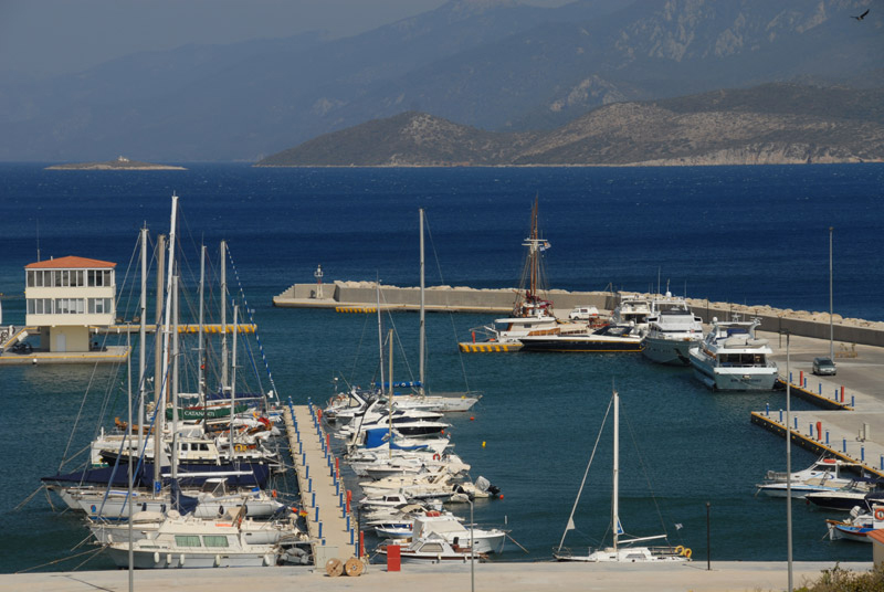 Yachthafen Samos