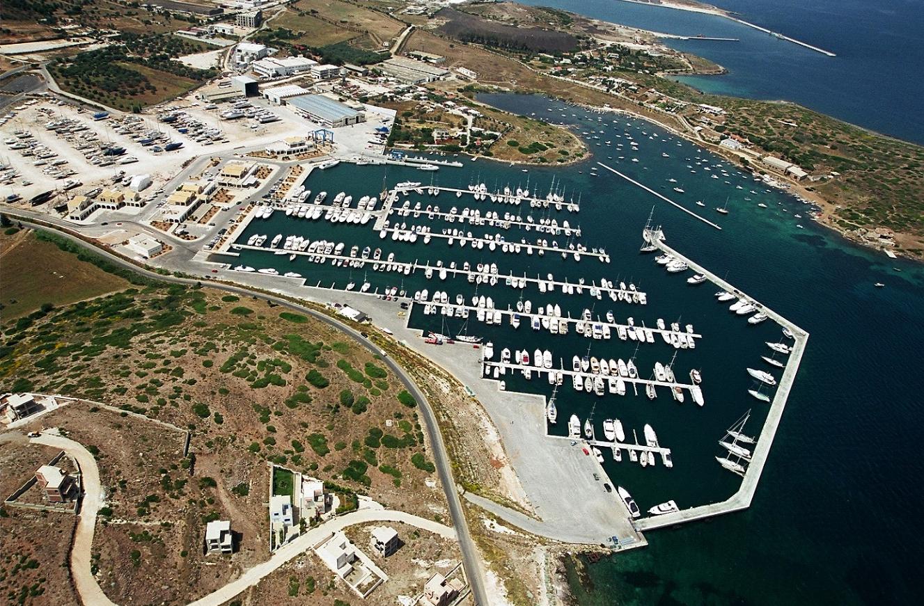 Marina Lavrion Yachthafen
