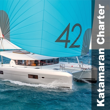 Katamaran Charter Griechenland