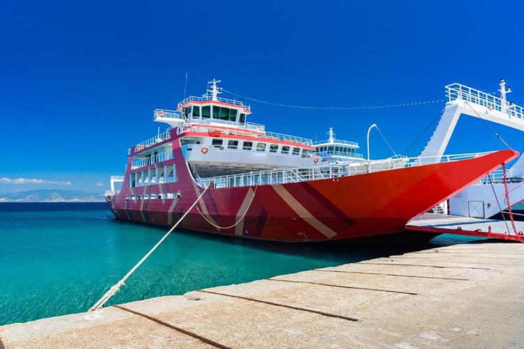 Hafen Limenas Thassos Fähre