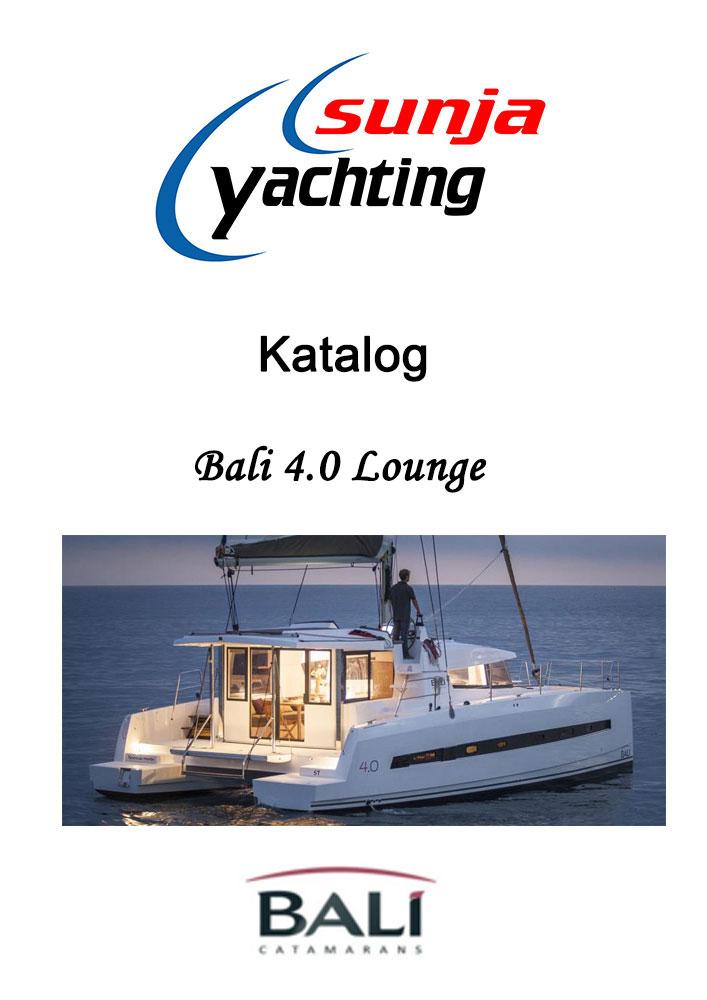 Bali 4.0 Lounge Katalog / Broschüre