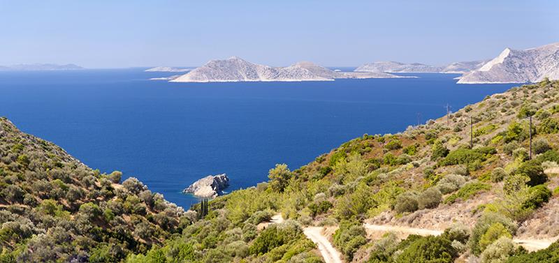Panorama von Samos