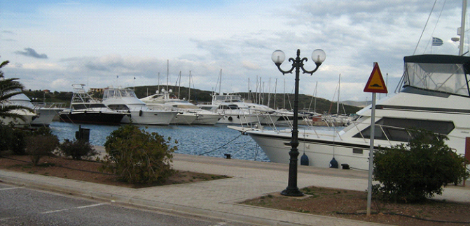 Yacht Base Lavrion