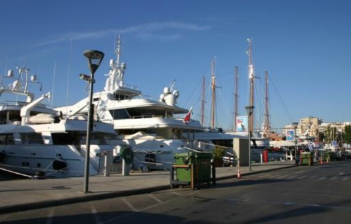 Hafen Sicherheit von Piräus