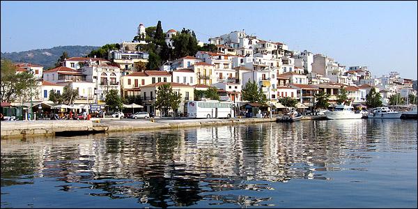Yachthafen Skiathos